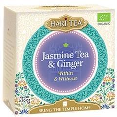 Ceai premium Hari Tea - Within and Without - iasomie si ghimbir bio 10dz