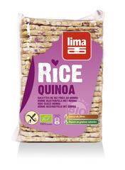 Rondele de orez expandat cu quinoa bio 130g