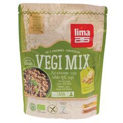 Vegi mix ghimbir, orez salbatic si soia bio 250g