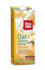 Lapte de ovaz cu vanilie bio 1L
