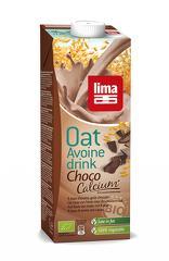 Lapte de ovaz cu ciocolata si calciu bio 1L