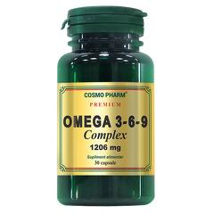 OMEGA 3-6-9 COMPLEX 1206MG 30CPS