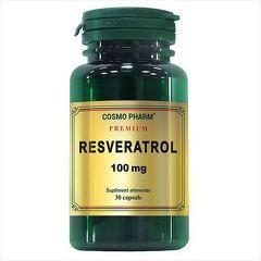 RESVERATROL 100MG 30CPS