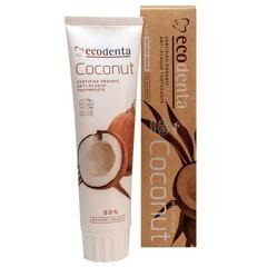 Pasta de dinti pentru dinti si gingii sensibile cu sare naturala, Cosmos Organic, Ecodenta, 100ml