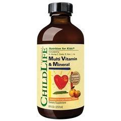 Multi Vitamin & Mineral 237ml (gust de portocale/mango)