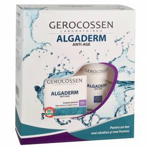 Set Cadou Crema antirid 35+ si Lapte demachiant Algaderm