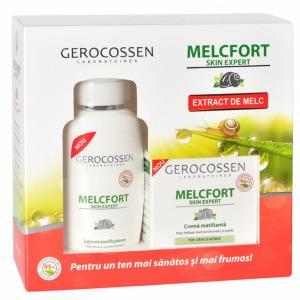 Set Cadou Melcfort pentru matifiere: Crema matifianta + Lotiune purificatoare